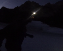 Night + Snow Trail running sulle Dolomiti